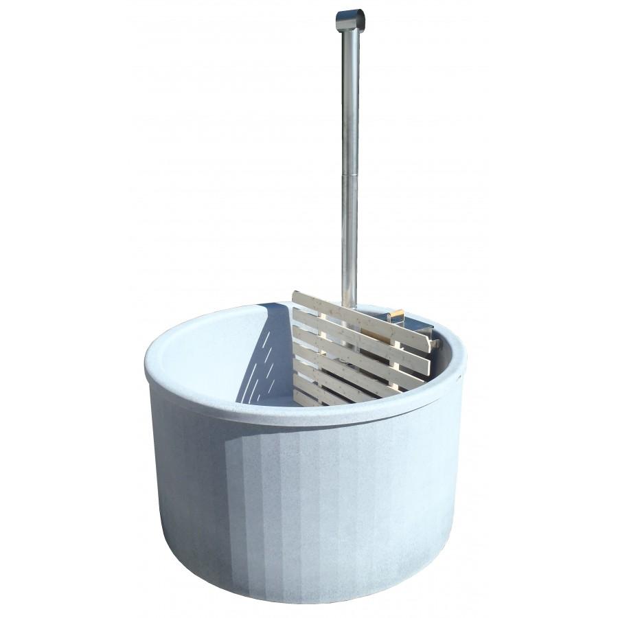 Muovinen kylpytynnyriallas 1800 l, tee se itse  Tynnyrishop fi