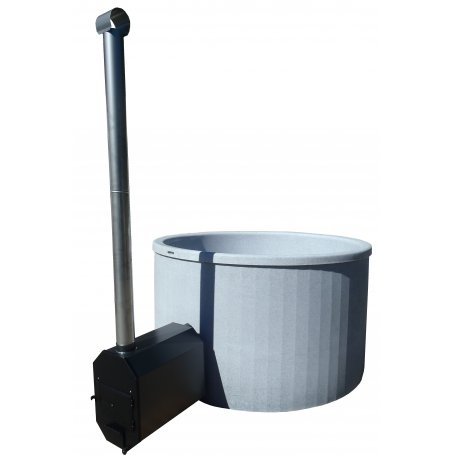 Helppohoitoinen muovinen Kylpytynnyri Palju 1800 L 6-8 hengelle