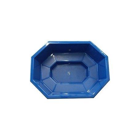 Kylpytynnyrin lasikuituinen tynnyriosa, perhemalli Palju 1600 L. Laadukas palju tee se itse miehelle.