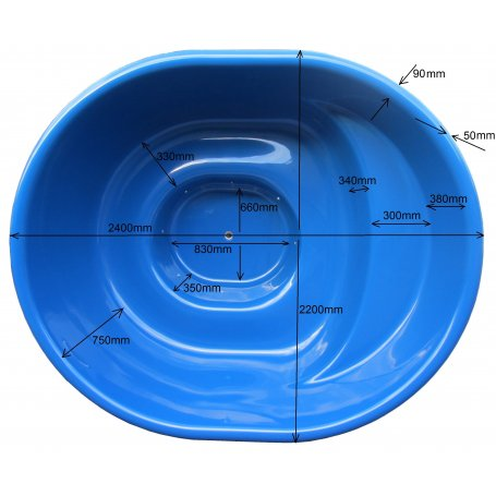 Kylpytynnyrin lasikuituinen tynnyriosa Paljuun 1700 L 6 hengelle. Laadukas ja edullinen palju tee se itse miehelle.