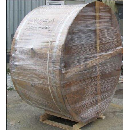 Puinen Kylpytynnyrisetti 2000 l uppokaminalla