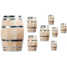8 kpl uusi viinitynnyri, 150 litraa