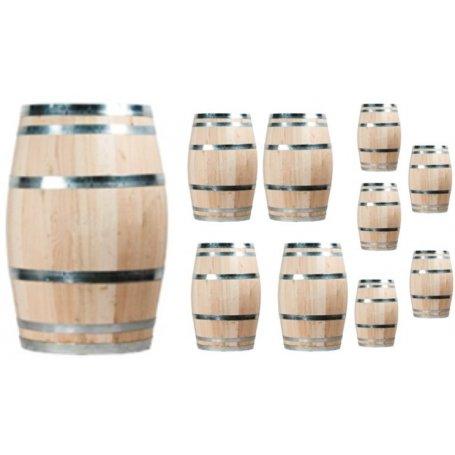 10 kpl uusi viinitynnyri, 100 litraa