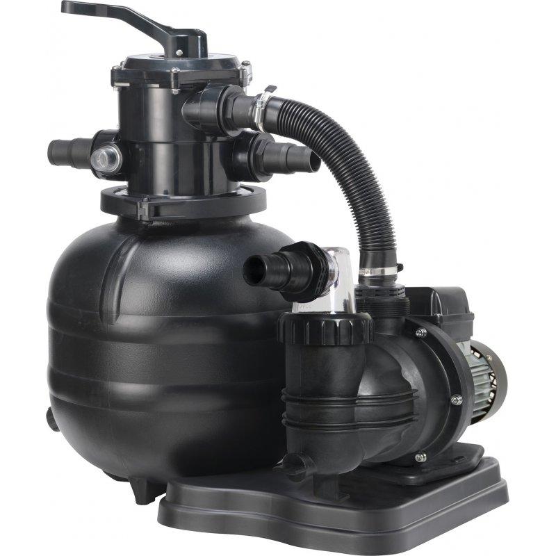 SUODATINJÄRJESTELMÄ, 250 W:n pumppu ja suodatin