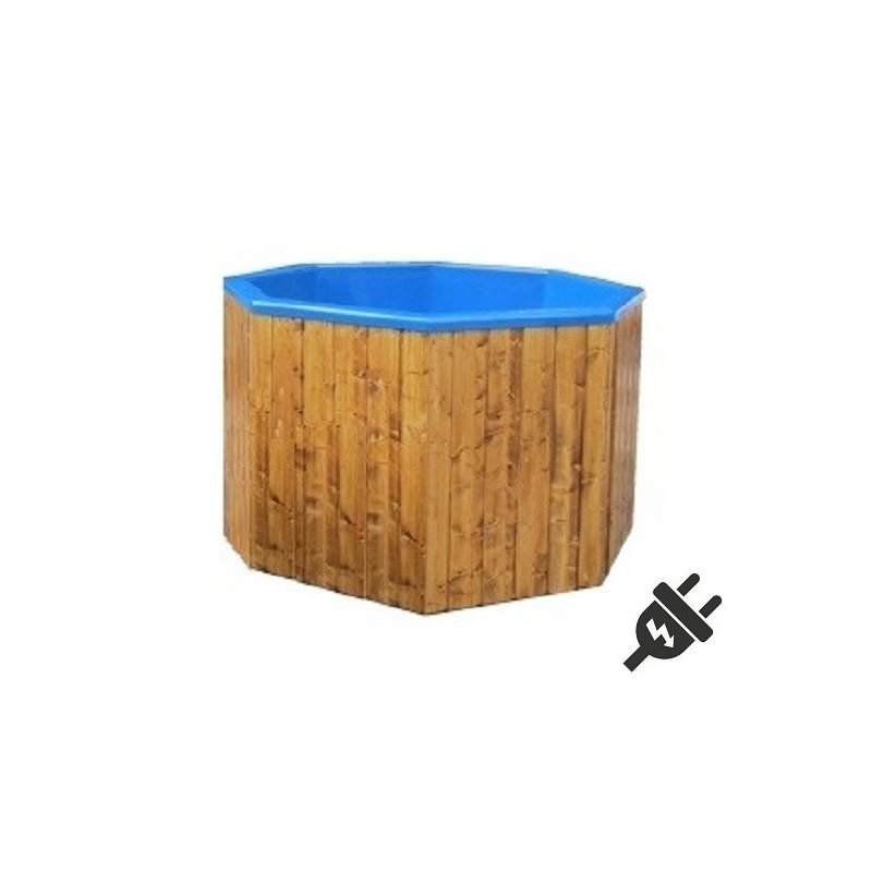 Sähkökäyttöinen Kylpytynnyri setti, 1200 L