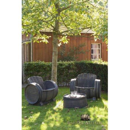 Tammitynnyripöytäryhmä 2 tuolia ja pöytä