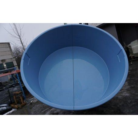 Lasikuituinen uima-allas 11 000 litraa