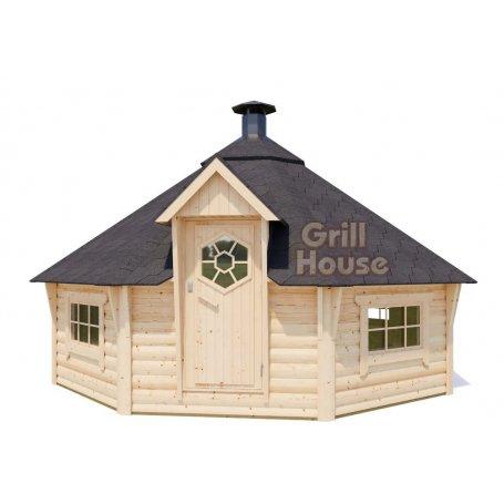 Iso grillikota 17 m2. Grillikodat ja Kotapaviljongit tarjoushintaan kotiin tuotuna Tynnyrishopista. valitse oma laadukas mallisi