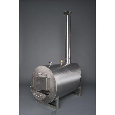 Rosterikamina 30 kW kylpytynnyriin on kestävä. Vähemmän puuta, enemmän tehoa Rosterikamina 30 kW, uutta teknologiaa, jonka hyöty