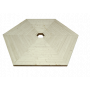 Kota mallien lattiat, Hexacon ja Octacon. Grillikota malleihin saat lisävarusteena lattian.