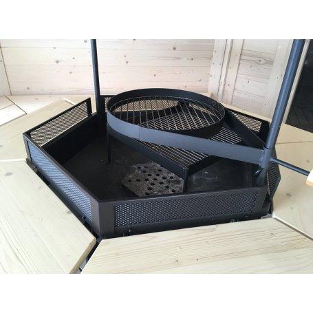 Kota mallien grilliin turvakehys  Toimitus kota tai grillin kanssa yhdessä.