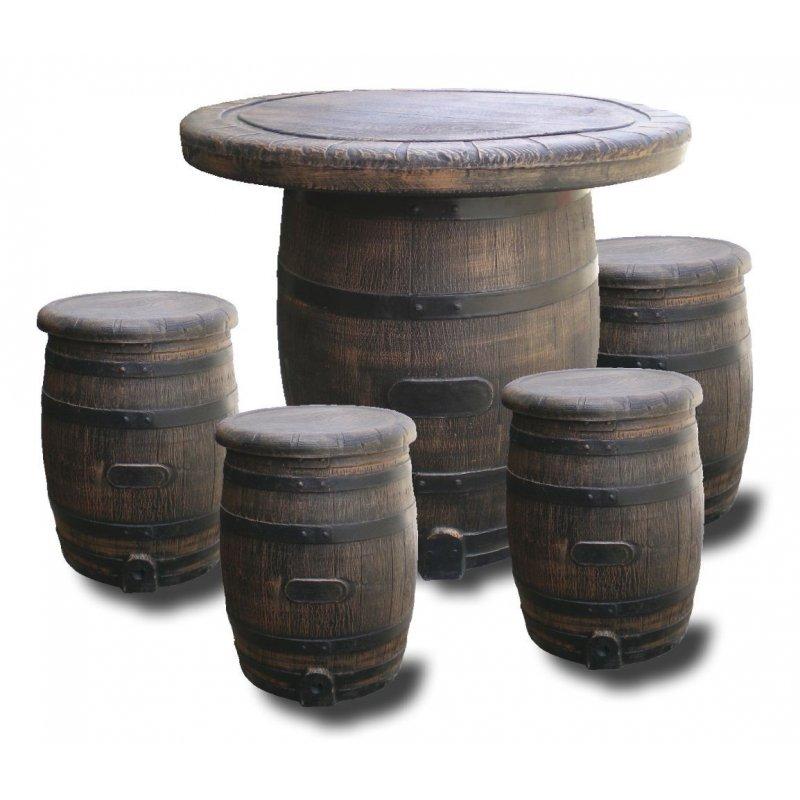 Tammitynnyripöytäryhmä 1+2 tuolia