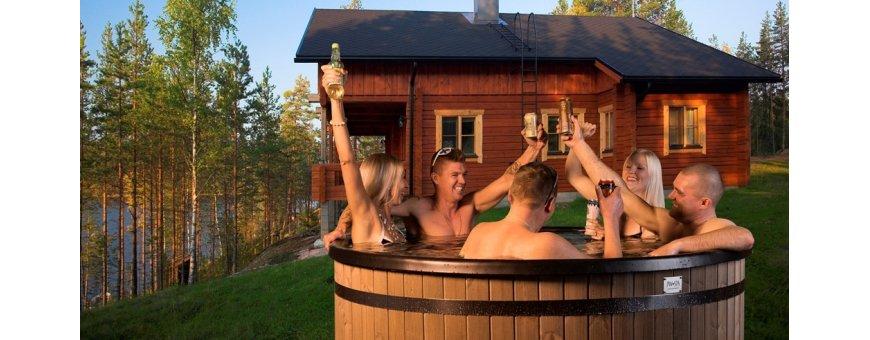 PW SPA -kylpytynnyreillä voit jatkaa kesän kylpykautta mvaikka vuoden ympäri!